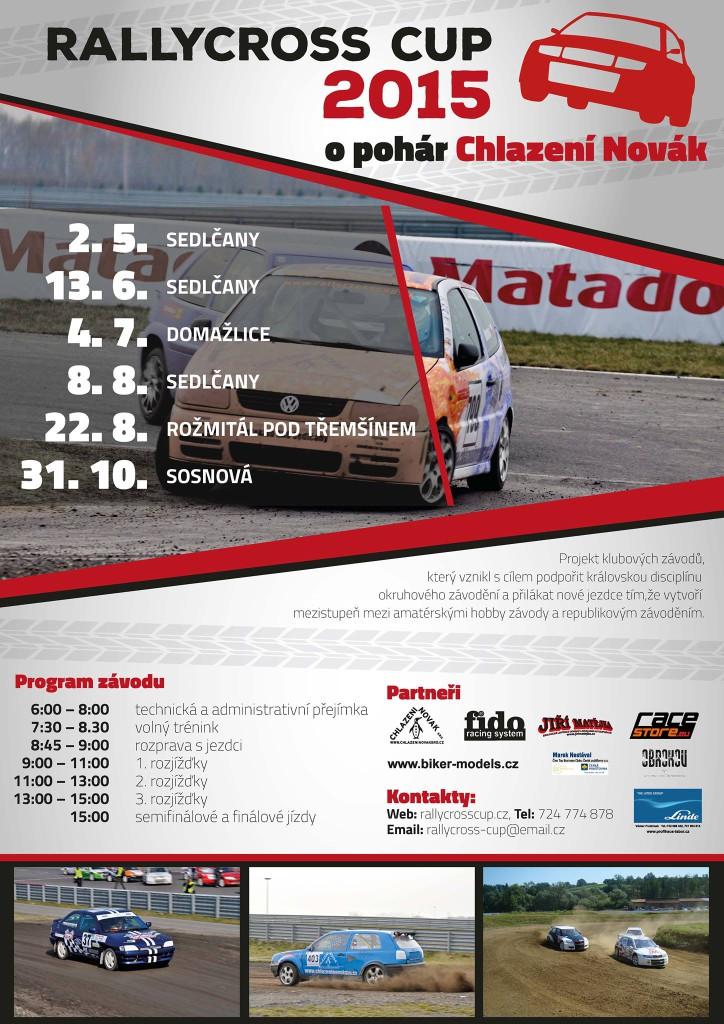 plakát rallycross cup